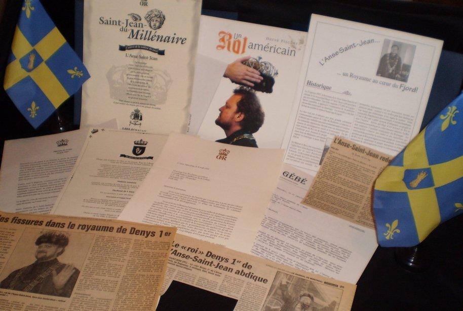 Correspondance échangée en 1999 entre S.A.R. le Roi de l'Anse et Guy de Boulianne, fondateur du Royaume de Nova Francia.
