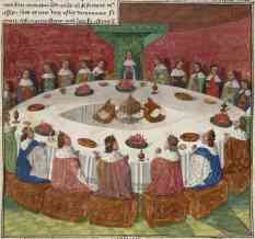 Holy Grail Round Table
