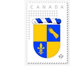 Le timbre du Royaume de Nova Francia - 245x232