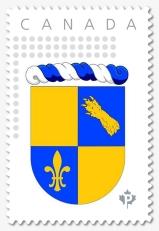 Le timbre du Royaume de Nova Francia