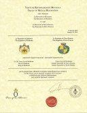 Traité de Reconnaissance Mutuelle - Royaume de Ruthenia