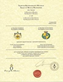 Traité de Reconnaissance Mutuelle - Ruthenia
