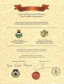 Traité de Reconnaissance Mutuelle - State of Sandus
