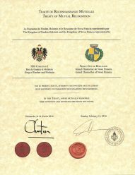 Treaty of Mutual Recognition - The Kingdom of Emden-Holstein
