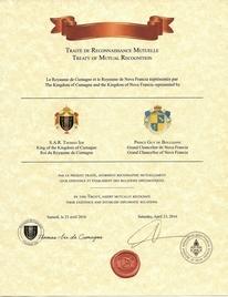Traité de Reconnaissance Mutuelle - Royaume de Cumagne