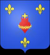 Les armoiries de la famille de Bourbon-Naundorff.