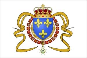 Pavillon royal en Canada de 1663 à 1763.