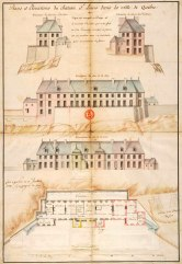 plans-et-elevations-du-chateau-saint-louis-en-1724-par-chaussegros-de-lery