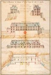 plans-et-elevations-du-chateau-saint-louis-en-1724-par-chaussegros-de-lery